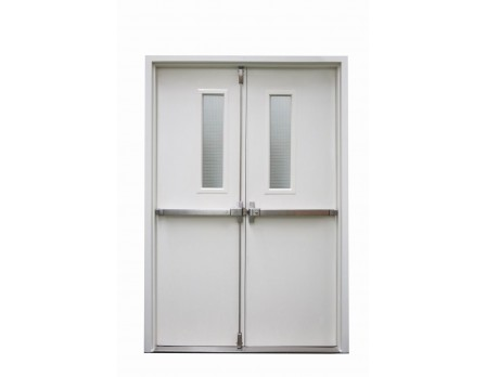 UL listed fire door for hospital exit