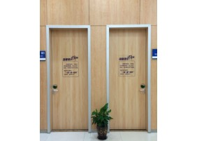HPL medical hygienic doors
