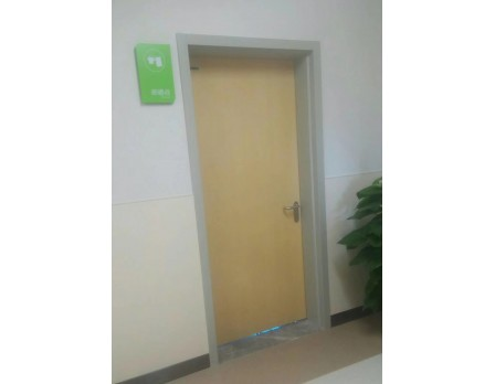 steel frame hollow core patient room door