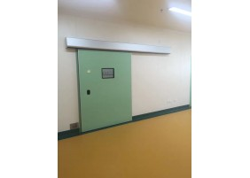 Lead lined wood HPL door for X ray room