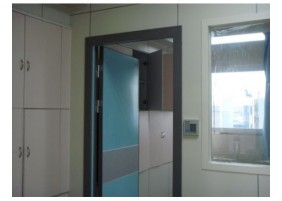 Flush Type Patient Room Door