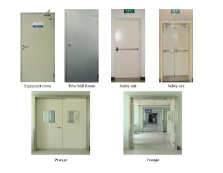UL fire rated door for medical center