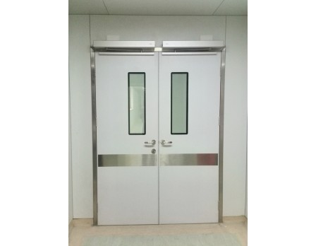 Tempered Glass Aluminum Hermetic Door