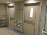 Usage of HPL in hospital door industry