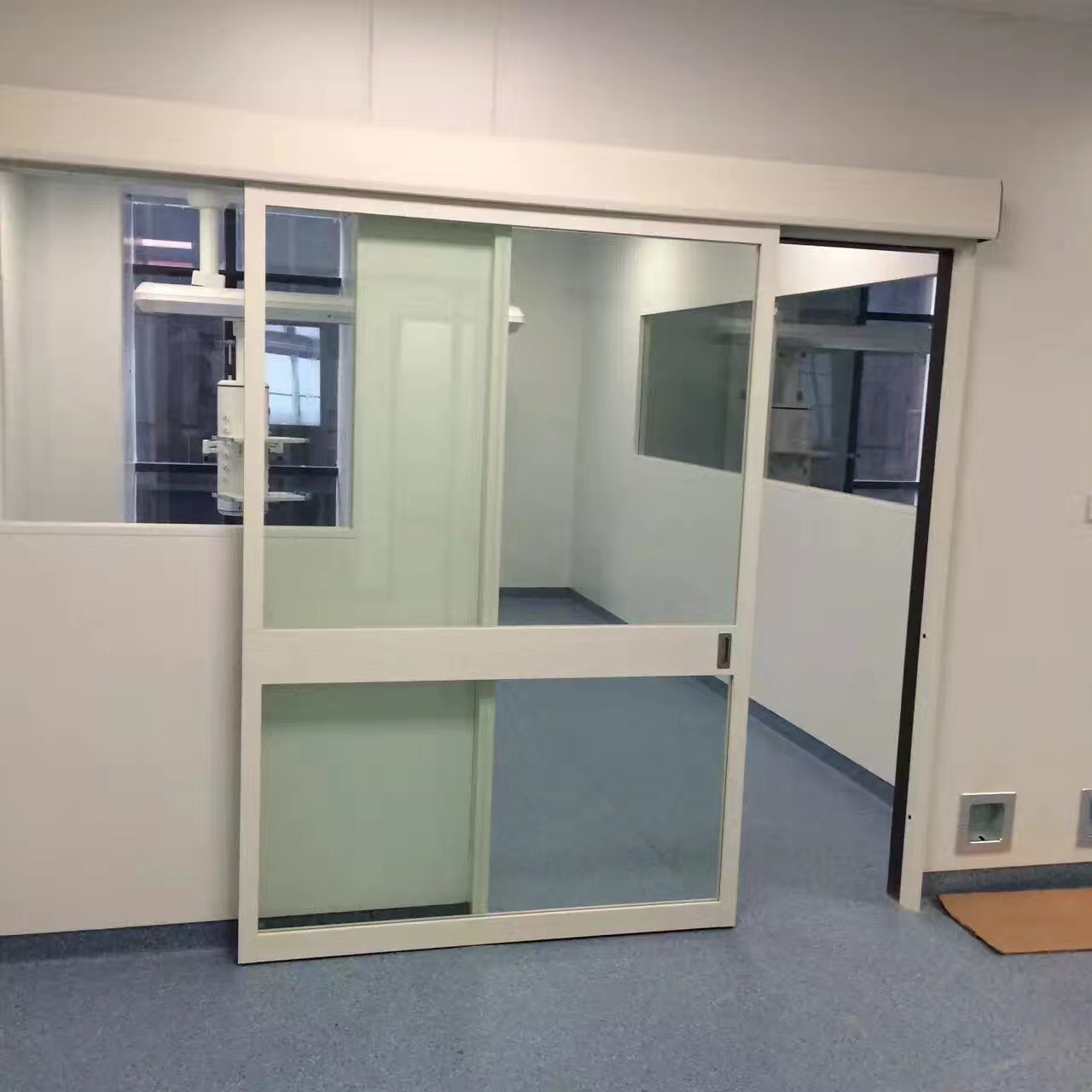 auto sliding icu room door
