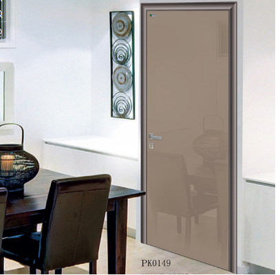 tempered glass door, aluminum toilet door, wooden bathroom door
