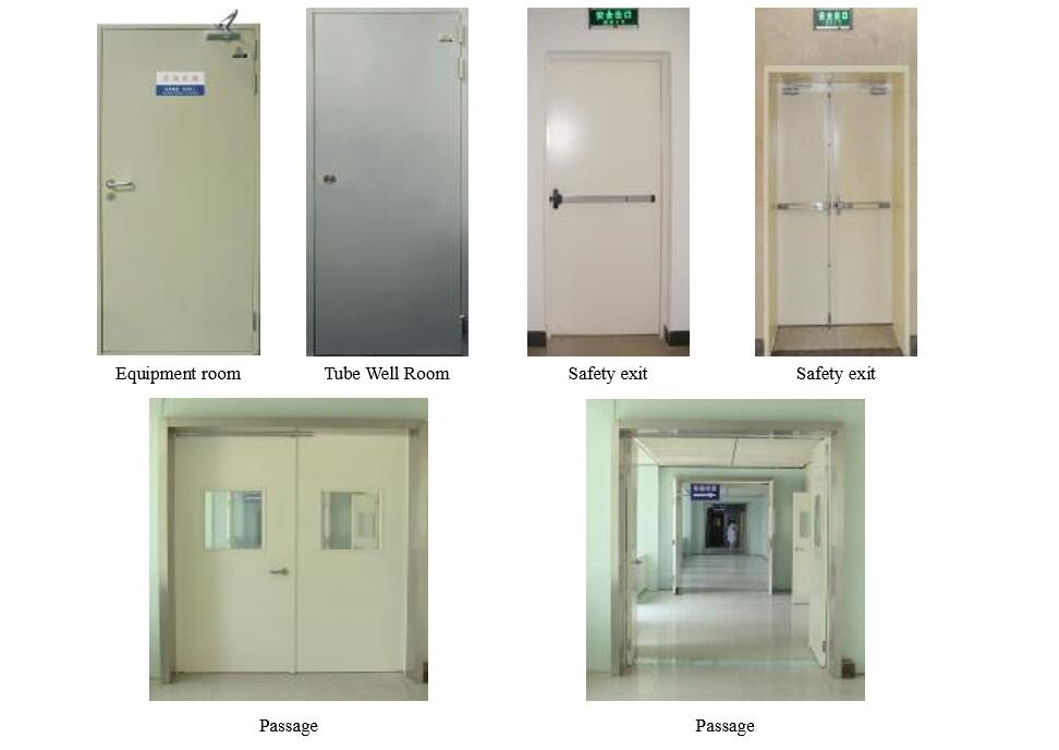 UL fire rated medical door
